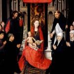 <b>МЕМЛИНГ Мария с младенцем и со св. Иаковом и св. Домиником, как патронами донато...</b>