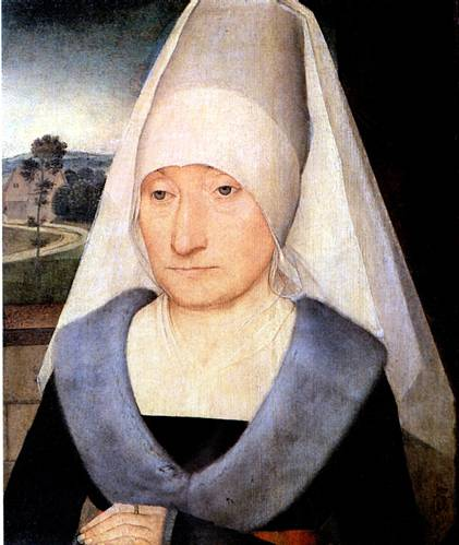 МЕМЛИНГ ХАНС Портрет пожилой женщины