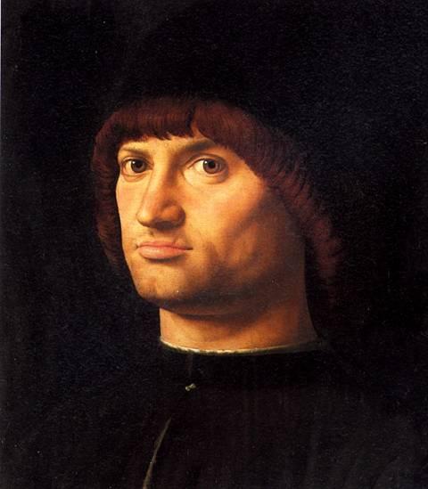 МЕССИНА АНТОНЕЛЛО ДА Мужской портрет, 1475