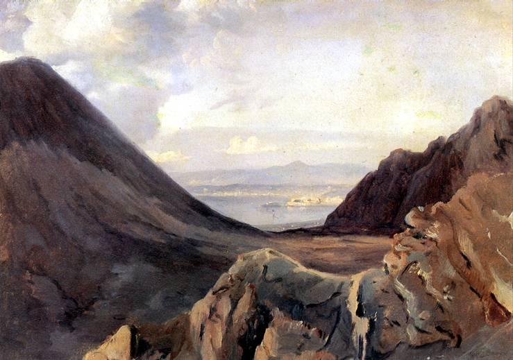 МИШАЛОН АШИЛ ЭТНА Вид Неаполя с высоты Везувия