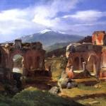 <b>МИШАЛОН АШИЛ ЭТНА Руины театра в Таормина (Сицилия)</b>