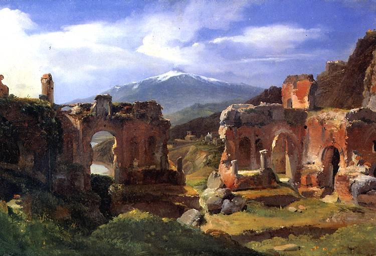 МИШАЛОН АШИЛ ЭТНА Руины театра в Таормина (Сицилия)