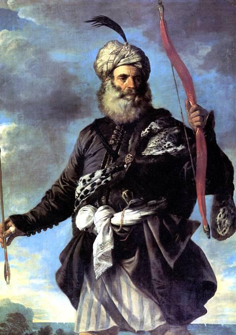 МОЛА ПЬЕР ФРАНЧЕСКО Пират-иноверец с луком, 1650