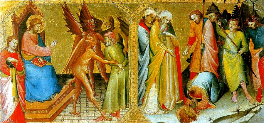 МОНАКО ЛОРЕНЦО Встреча святых Иакова Старшего и Гермогена