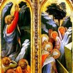 <b>МОНАКО ЛОРЕНЦО Христос в Гефсиманском саду; Святые жены у гроба. Створки триптих...</b>