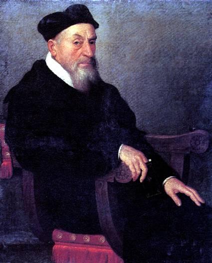 МОРОНИ ДЖОВАННИ БАТТИСТА Портрет священника