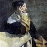 <b>МОТТЕ ВИКТОР Мадам Мотте, жена художника</b>