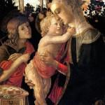 <b>БОТТИЧЕЛЛИ Мадонна с младенцем и со св. Иоанном Крестителем</b>