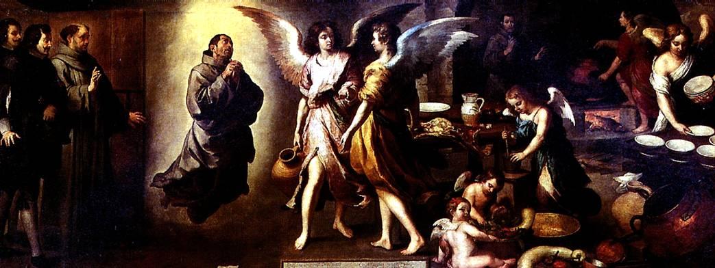 МУРИЛЬО БАРТОЛОМЕ ЭСТЕБАН Кухня ангелов, 1646