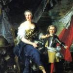 <b>НАТЬЕ ЖАН МАРК Мадемуазель де Ламбес в виде Минервы, одевающая доспехи своему бр...</b>