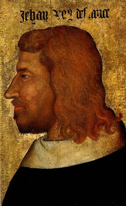 ПАРИЖСКАЯ ШКОЛА Иоанн II (Добрый), король Франции (1319-1364), ок. 1359