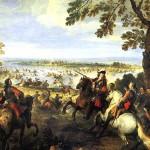 <b>ПАРРОСЕЛЬ ЖОЗЕФ Переправа через Рейн армии Людовика XIV 12 июня 1672 г</b>