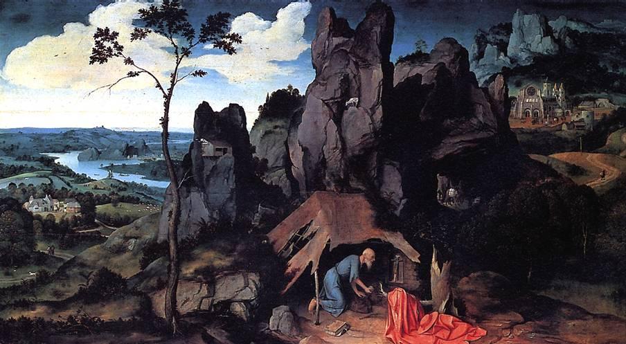 ПАТИНИР ИОАХИМ Св. Иероним в пустыне
