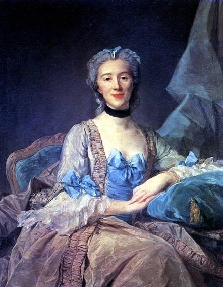 ПЕРРОНО ЖАН БАТИСТ Мадам де Соркенвиль, 1749
