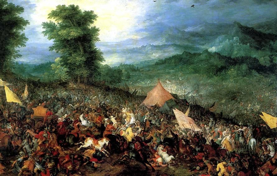 БРЕЙГЕЛЬ ЯН СТАРШИЙ, ПРОЗВАННЫЙ БРЕЙГЕЛЕМ БАРХАТНЫМ Битва при Иссе, 1602