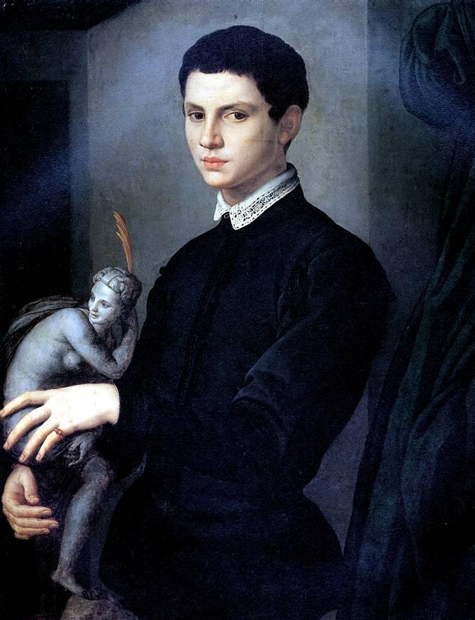 БРОНЗИНО Портрет скульптора