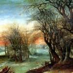 <b>АЛЬСЛОТ ДЕНИС ВАН Зимний пейзаж, 1610</b>