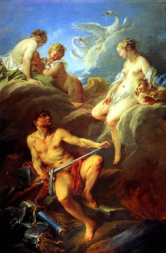 БУШЕ Венера, просящая у Вулкана оружие для Энея, 1732