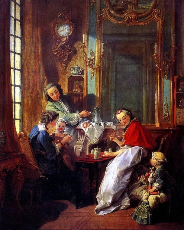 БУШЕ ФРАНСУА Завтрак, 1739