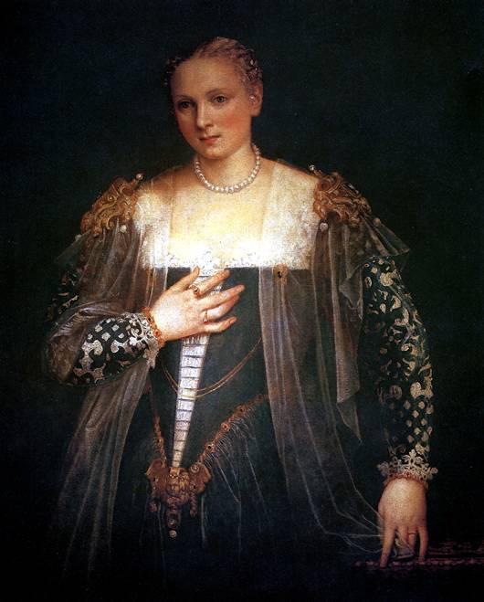 ВEPOНЕЗЕ Красавица Нани (Женский портрет)