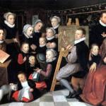 <b>ВАН ВЕН ОТТО (ОТТО ВЕНИУС) Художник Отто Вениус в окружении домочадцев, 1584</b>
