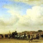 <b>ВАН ДЕ ВЕЛДЕ АДРИАН Кортеж в Схевенингене, 1660</b>