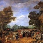 <b>ВАН ДЕ ВЕННЕ АДРИАН Аллегория перемирия 1609 года между эрцгерцогом Австрийским,...</b>