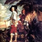 <b>ВАН ДЕЙК АНТОНИС Карл I, король Англии, на охоте</b>