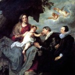 <b>ВАН ДЕЙК АНТОНИС Мария с младенцем Христом и с донаторами</b>