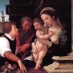 <b>ВАН ОРЛЕЙ БАРЕНТ Святое семейство, 1521</b>
