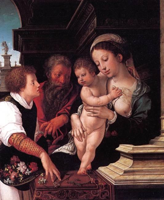 ВАН ОРЛЕЙ БАРЕНТ Святое семейство, 1521