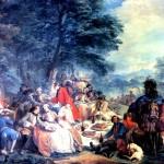 <b>ВАНЛОО КАРЛ Отдых на охоте, 1737</b>