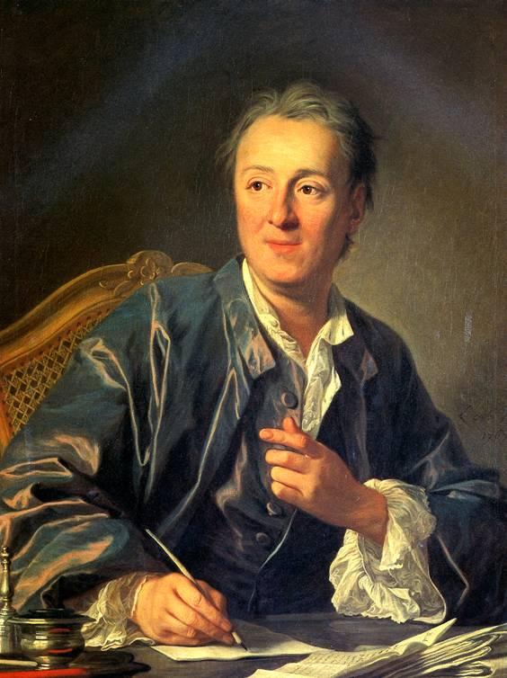 ВАНЛОО ЛУИ МИШЕЛЬ Дени Дидро, 1767