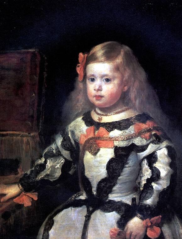ВЕЛАСКЕС ДИЕГО РОДРИГЕС ДЕ СИЛЬВА Инфанта Мария Маргарита, дочь короля Филиппа IV, короля Испании