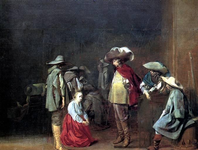 ВЕЛСЕН ЯКОБ ВАН Гадалка, 1631