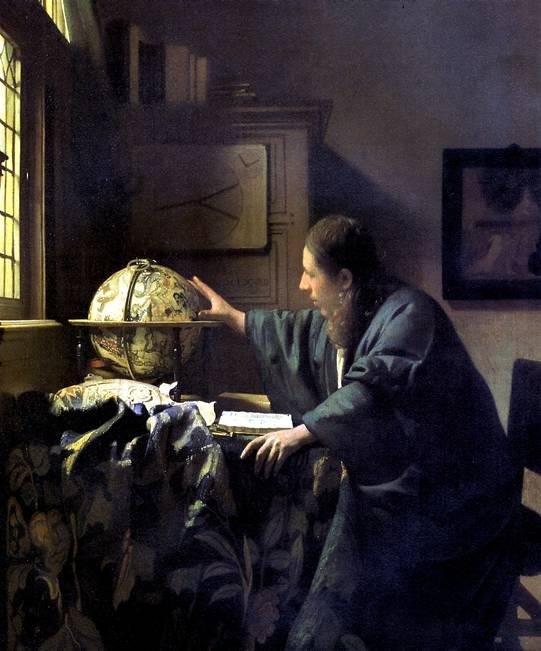ВЕРМЕР ЯН, ПРОЗВАННЫЙ ВЕРМЕР ДЕЛФТСКИЙ Астроном, 1668