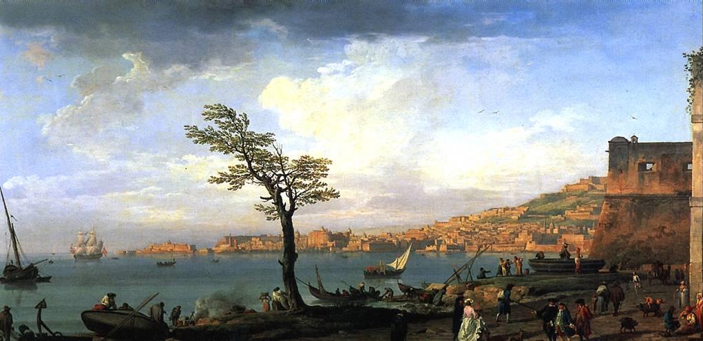 ВЕРНЕ КЛОД ЖОЗЕФ Вид Неаполитанского залива, 1748