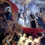 <b>РУБЕНС ПИТЕР ПАУЭЛ Прибытие Марии Медичи в Марсель</b>
