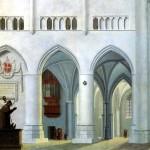 <b>САНРЕДАМ ПИТЕР ЯНС Интерьер церкви св. Бавона в Хаарлеме</b>
