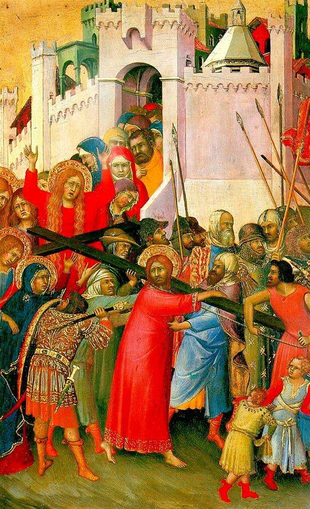 СИМОНЕ МАРТИНИ Несение креста