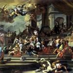 <b>СОЛИМЕНА ФРАНЧЕСКО Гелиодор, изгоняемый из храма, 1725</b>