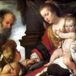 <b>СТРОЦЦИ БЕРНАРДО Святое семейство со св. Иоанном Крестителем</b>