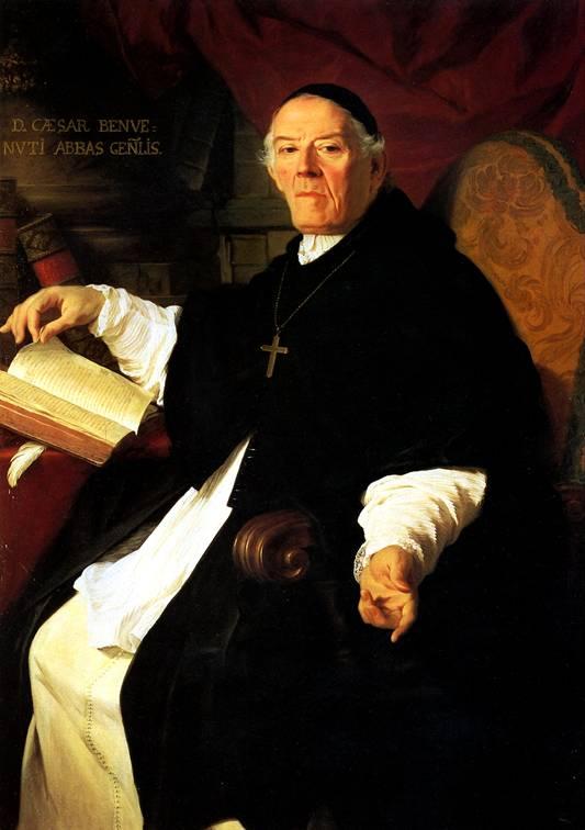 СУБЛЕЙРА ПЬЕР Его преосвященство Чезаре Бенбенути, настоятель конгрегации каноников Аатерана, 1742