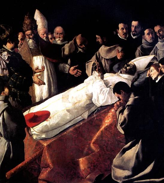 СУРБАРАН ФРАНСИСКО ДЕ Погребение святого Бонавентуры