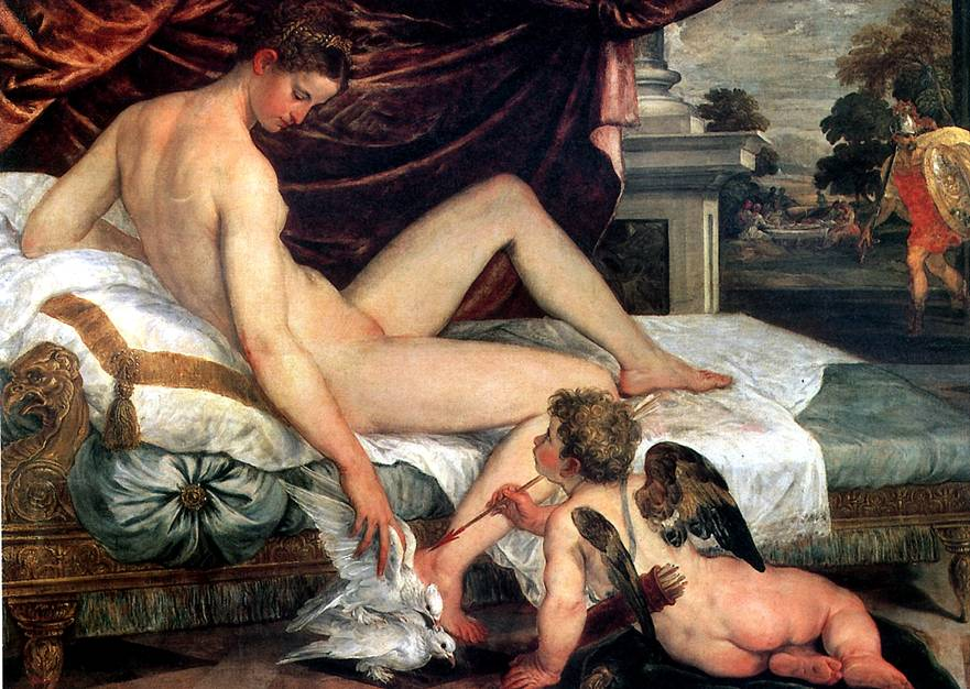 СУСТРИС ЛАМБЕРТ Венера и Амур