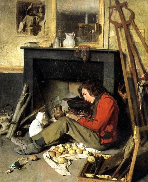 ТАССАР ОКТАВ Мастерская художника, 1845