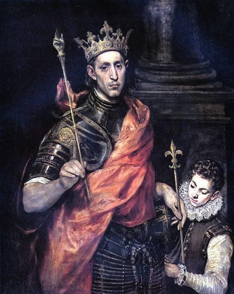 ТЕОТОКОПУЛИ ДОМЕНИКО, ПРОЗВАННЫЙ ЭЛЬ ГРЕКО Св. Людовик, король Франции, и паж