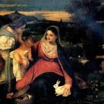<b>ТИЦИАН Мадонна с кроликом, 1530</b>