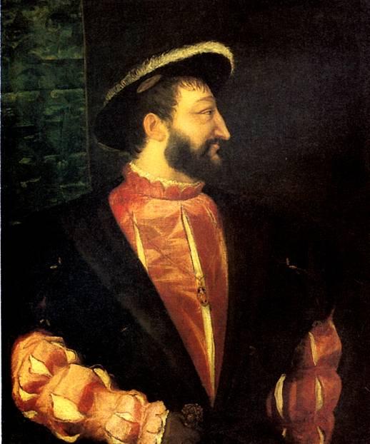 ТИЦИАН Франциск I, король Франции, 1538