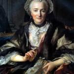 <b>ТОКЕ ЛУИ Мадам д'Анже, супруга генерала Франсуа Бальтазара д'Анже Дюфэ, 1753</b>